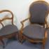 chaise et fauteuil Louis Philippe